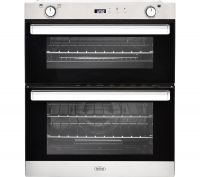 BELLING BI702G Gas Built-under Double Oven - Stainless Steel, Stainless Steel