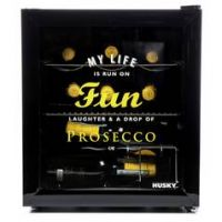Husky Prosecco 46 Litre Drinks Cooler - Black