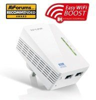 EXDISPLAY TP-Link AV500 Powerline Homeplug WiFi Extender with 2 LAN ports