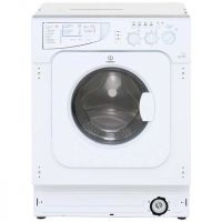 Indesit Eco Time IWDE126 Integrated 6Kg / 5Kg Washer Dryer with 1200 rpm - B Rated