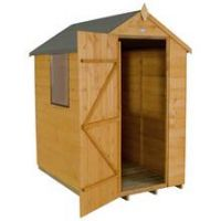 Forest 6 x 4ft Shiplap Wooden Apex Shed
