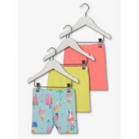Multicoloured Lolly Pop Cycle Shorts 3 Pack