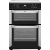 Belling FSE60MFTi Electric Cooker with Induction Hob - Stainless Steel - A/A Rated