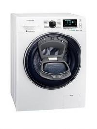 Samsung WW90K6610QW/EU 9kgLoad, 1600 Spin AddWashWashing Machine with ecobubble™ Technology and 5 Year Samsung Parts and Labour Warranty - White