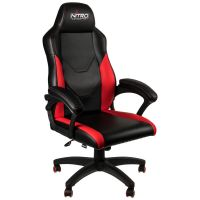 Nitro C100 GAMING CHAIR - BLACK/RED