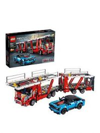 Lego Technic 42098 Car Transporter 2 In 1 Truck And Show Cars Model