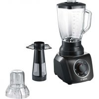 Bosch SilentMixx MMB43G3BGB 2.3 Litre Blender with 2 Accessories - Black