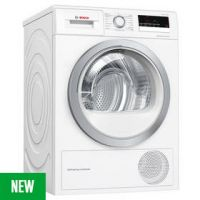 Bosch WTW85231GB 8KG Heat Pump Tumble Dryer - White