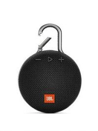 JBL JBL Clip3 Wireless Bluetooth Ultra Portable and Rugged Speaker with Intergrated Carabiner and Up To 10 hours Playtime - Black