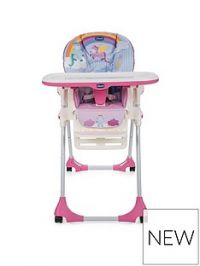 Chicco Polly Easy Highchair- Unicorn