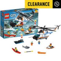 LEGO City Heavy-Duty Rescue Helicopter - 60166