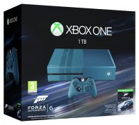 Xbox One 1TB Limited Edition Blue Console and Forza 6