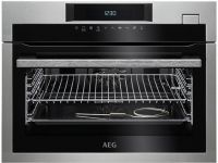 AEG KSE782220M Built In Compact Electric Single Oven with added Steam Function - Stainless Steel - A+ Rated