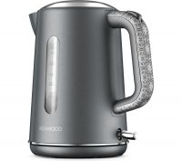 The Abbey Collection TJ05GY Jug Kettle - Grey, Grey
