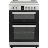 Belling FSDF608Dc 60cm Double Oven Double Oven Dual Fuel Cooker - Stainless Steel