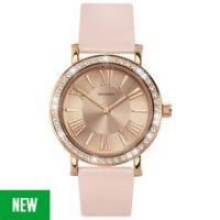 Sekonda Editions Ladies' Stone Set Rose Gold Plated Watch