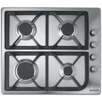 Hoover HGL64SCX Gas Hob - Stainless Steel