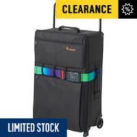 IT Luggage World's Lightest Medium 2 Wheel Suitcase - Black