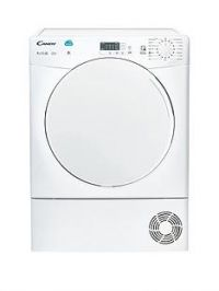 Candy CSC9LF 9kg Load Condenser Sensor Tumble Dryer with Smart Touch - White