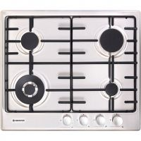 Hoover HHW6BF4MX 60cm Gas Hob - Stainless Steel