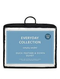 Everyday Collection Duck Feather And Down 13.5 Tog Duvet
