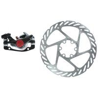 Avid BB5 MTB 160mm G2CS Rotor Front or Rear-Includes IS Brackets and Rotor Bolts Black