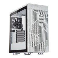 CORSAIR 275R Airflow Tempered Glass White Mid Tower PC Gaming Case