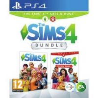 The Sims 4 with Cats & Dogs Bundle PS4 Game