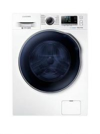 Samsung WD90J6A10AW/EU 9kg Wash/6kg Dry, 1400 Spin Washer Dryer with ecobubble™ Technologyand 5 Year Samsung Parts and Labour Warranty - White