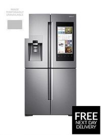 Samsung RF56M9540SR/EU Family Hub Multi-Door Fridge Freezer - Stainless Steel, 5 Year Samsung Parts and Labour Warranty
