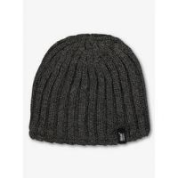 SockShop Charcoal Grey Knitted Beanie Hat - One Size