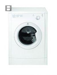 Indesit Ecotime IDV75 7kg Load Vented Tumble Dryer - White