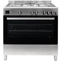 Teknix TKGF90SS 90cm Gas Range Cooker in Stainless Steel with 2 Year Warranty