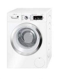 Bosch Serie 8 WAWH8660GB 9kg Load, 1400 Spin i-DOS Home Connect Washing Machine - White