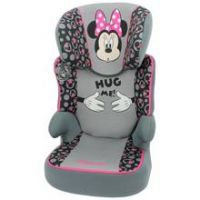 TT Disney Minnie Mouse Groups 2-3 Pink Booster Car Seat