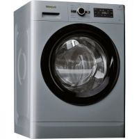 Whirlpool FreshCare+ FWG81496S 8Kg Washing Machine with 1400 rpm - Silver - A+++ Rated