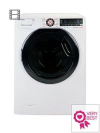 Hoover Dynamic ExtremeDWFT412AH312kgLoad, 1400 Spin Washing Machine with One-Fi Extra - White/Tinted