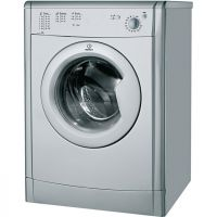 Indesit Eco Time IDV75S 7Kg Vented Tumble Dryer - Silver - B Rated