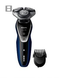 Philips Series 5000 Wet and Dry Men's Electric Shaver with Turbo+ mode & Beard Trimmer - S5572/40