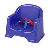 Little Star Chair Booster Seat with Tray - Blue