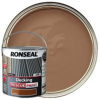 Ronseal Rescue Decking Paint - Maple 2.5L