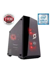Zoostorm StormForce Onyx Intel Core i3, GeForce GTX 1050 Graphics, 8GB RAM, 1TB HDD & 120GB SSD, Gaming PC