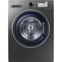 Samsung ecobubble™ WW80J5555FC 8Kg Washing Machine with 1400 rpm - Graphite - A+++ Rated