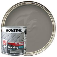 Ronseal Ultimate Protection Decking Stain - Stone Grey 2.5L