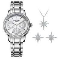 Rotary Ladies' Multi Dial Watch and Jewellery Set