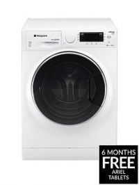 Hotpoint Ultima S-Line RD966JD 9kg Wash, 6kg Dry, 1600 Spin Washer Dryer - White