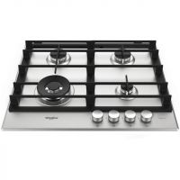 Whirlpool W Collection GMW6422/IXL 59cm Gas Hob - Stainless Steel
