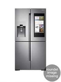 Samsung RF56M9540SR/EU Family Hub Multi-Door Fridge Freezer and 5 Year Samsung Parts and Labour Warranty - Stainless Steel