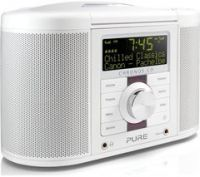 PURE Chronos CD Series II DAB/FM Radio - White