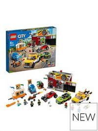 Lego City 60258 Tuning Workshop With 6 Vehicles
